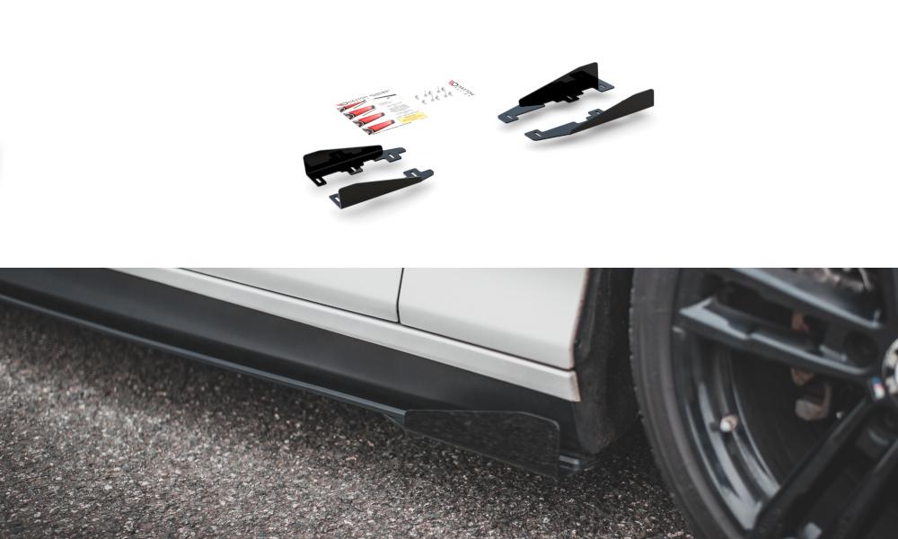 SIDE FLAPS BMW 1 F20 M-PACK FACELIFT / M140I - GRUBYGARAGE - Sklep Tuningowy